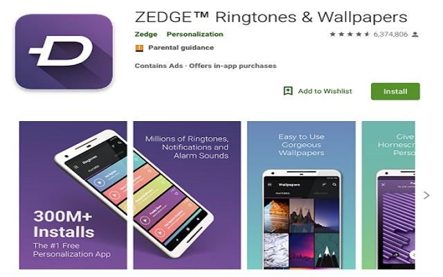 Zedge For Pc Desktop To Download Wallpapers