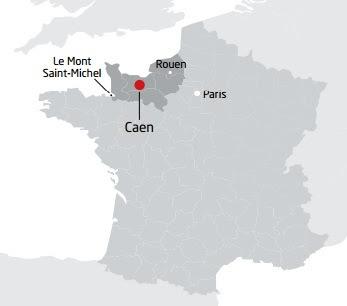 Как добраться в Кан (Caen), Нормандия, Франция - расписание, билеты