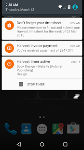 Harvest Time & Expense Tracker - screenshot thumbnail