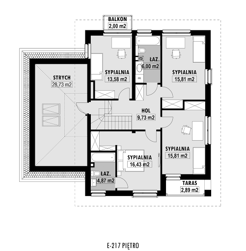E-217 - Rzut piętra
