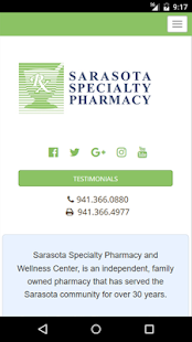 Sarasota Specialty Pharmacy- screenshot thumbnail