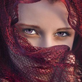 Purple eyes by Dan Pham - People Family (  )