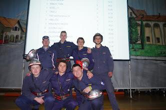 Photo: 4. mesto, ekipa in mentor.
