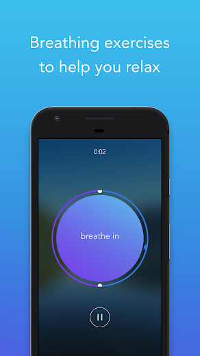 Screenshot 3 for Calm's Android app'