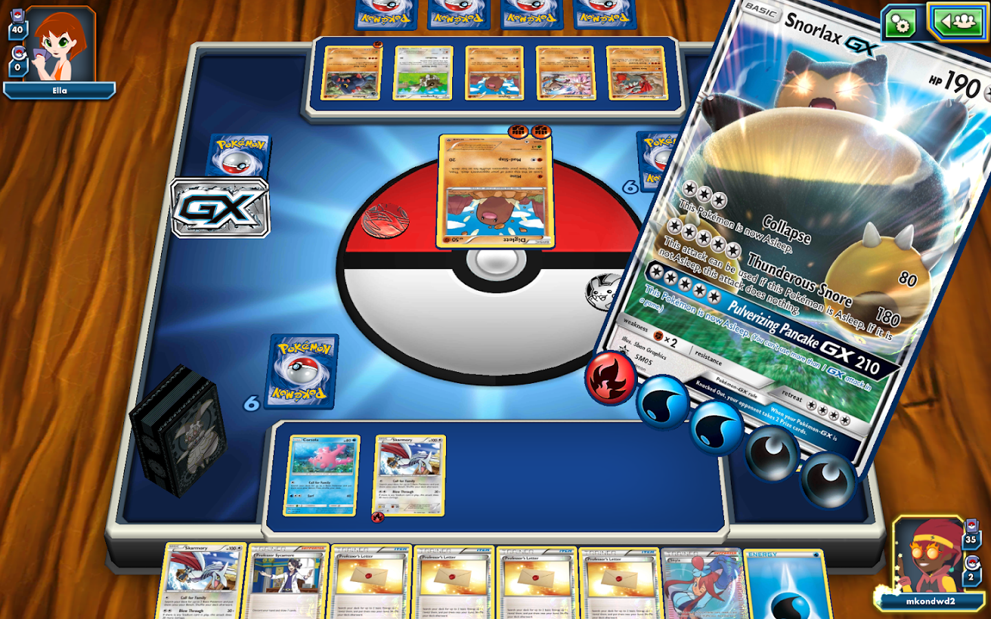 Pokémon TCG Online- screenshot