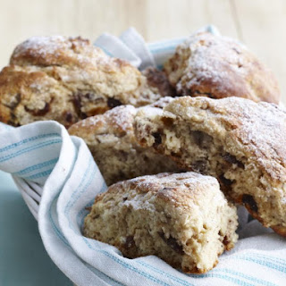 Date, Walnut and Banana Scones