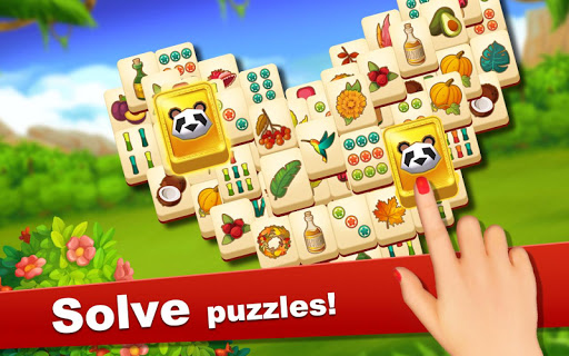 Zoo Mania: Mahjong Solitaire Puzzle  screenshots 4