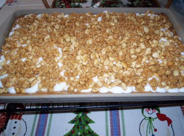 Chewy Peanut-marshmallow Bars Recipe