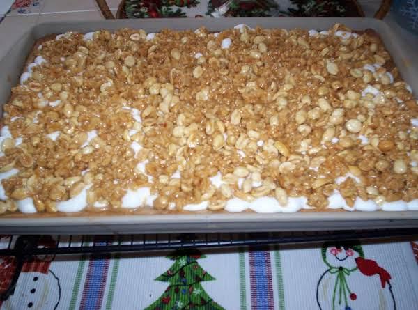 Chewy Peanut-marshmallow Bars