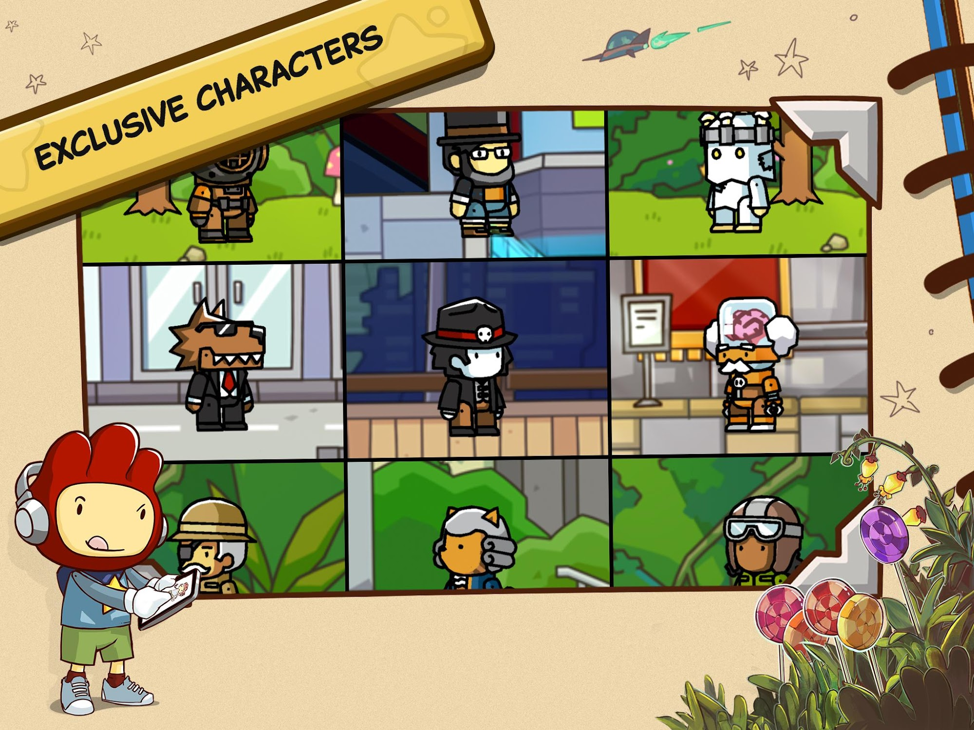 Scribblenauts Unlimited screenshot #12