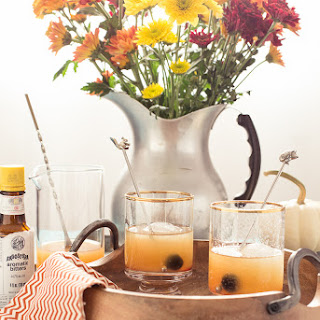 Pumpkin Spice Rum Old Fashioned.