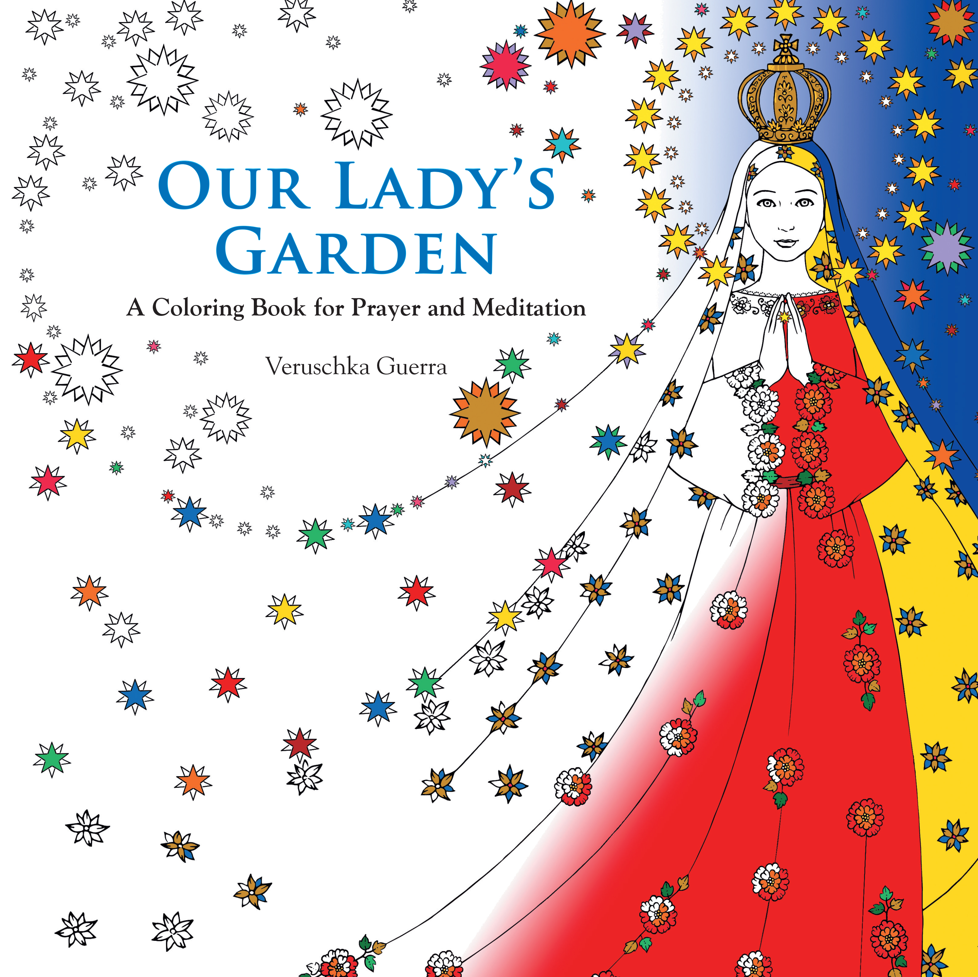 our lady u0027s garden coloring book
