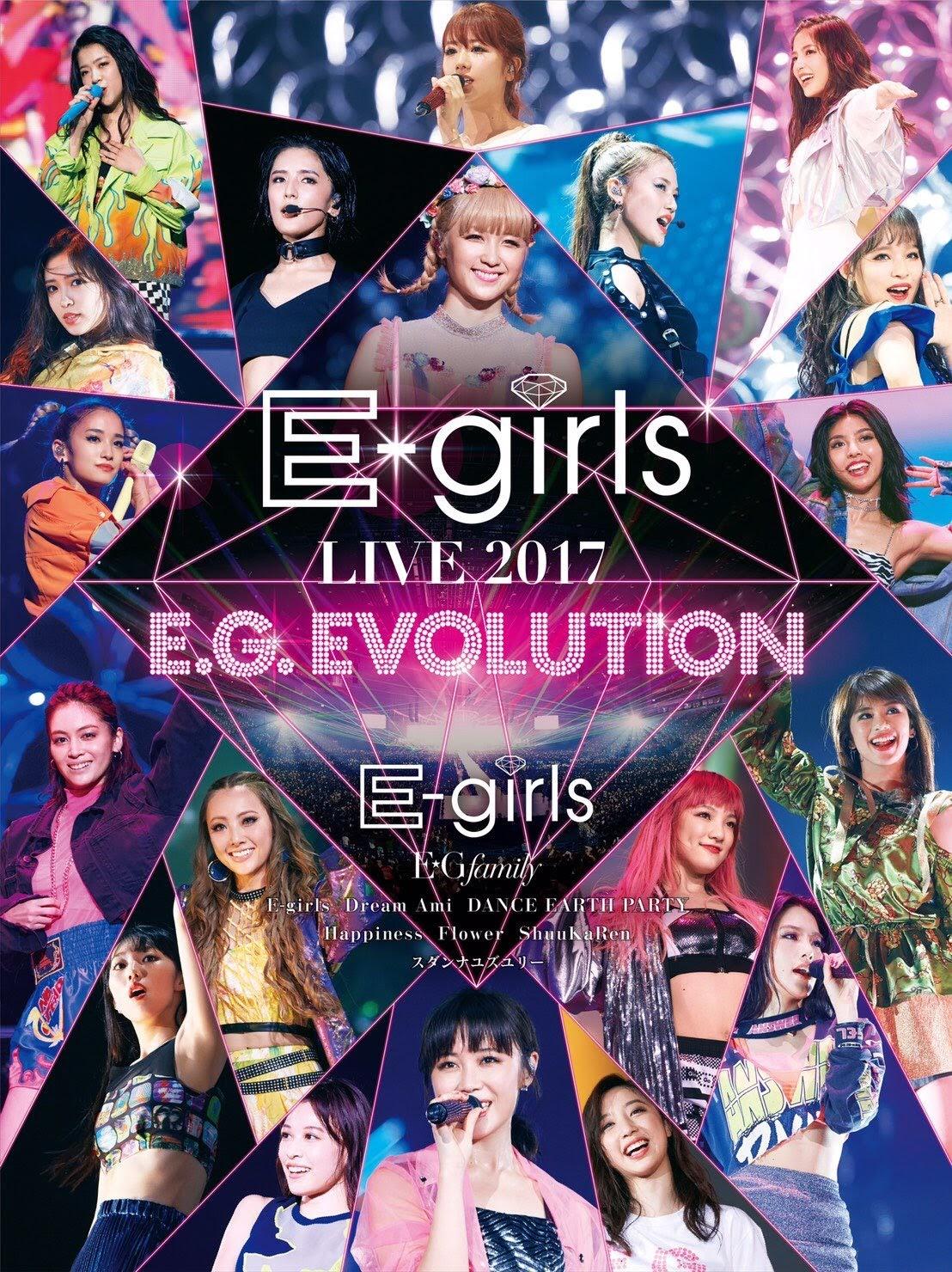 Capa do DVD/Blu-ray E.G. EVOLUTION