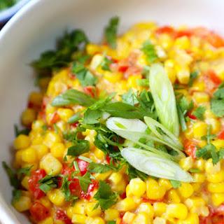 Sweet Corn with Creamy Miso Sauce