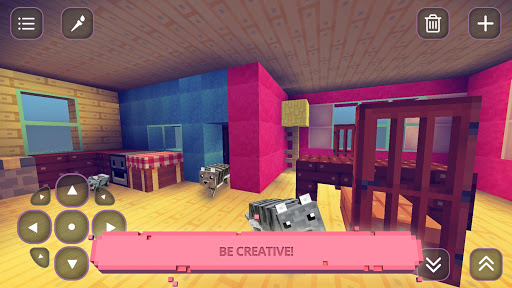 Cute Craft : Girls Crafting & Building Tiny World - screenshot