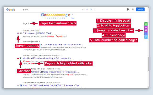 Search Enhancer for Google™