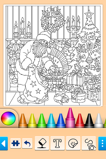 Foto do 🎅Christmas Coloring