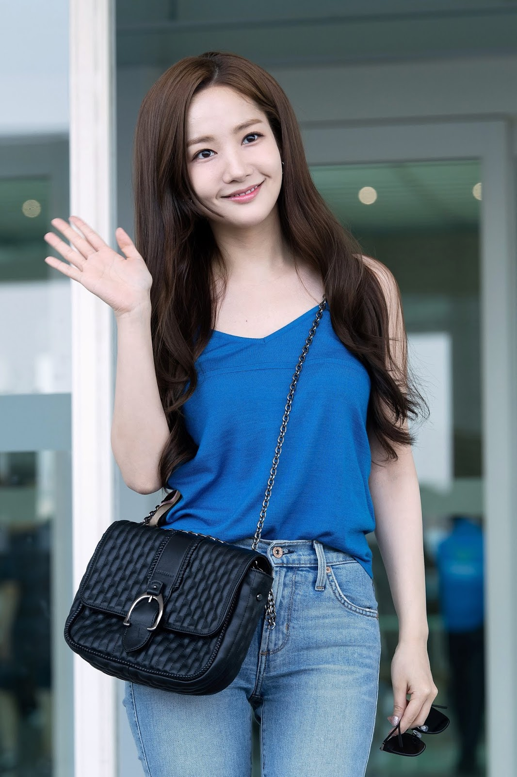 Park Min Young August 2018 Incheon Airport 6