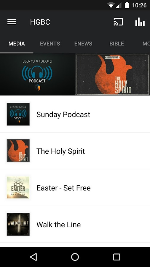 Hunters Glen Baptist Church- screenshot