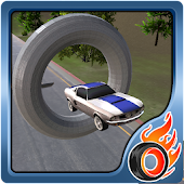 sports car stunt racing 3D