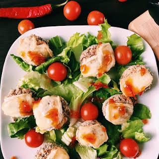 Stuffed Mushrooms Salad.