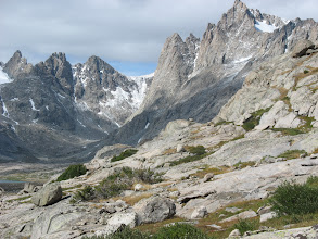 Photo: Wind River Mountains: Titcomb Basin