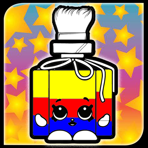 Cartoon Kid Coloring Shopkin 益智 App LOGO-硬是要APP