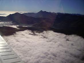 Photo: Pic de Montaigu à gauche - pic du Midi de Bigorre à droite