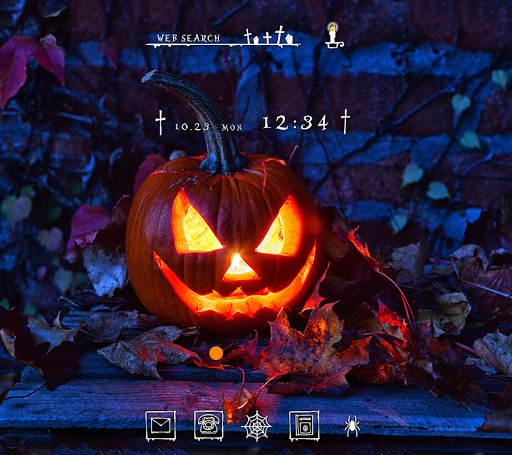 Halloween Wallpaper Pumpkin Candle Theme for PC