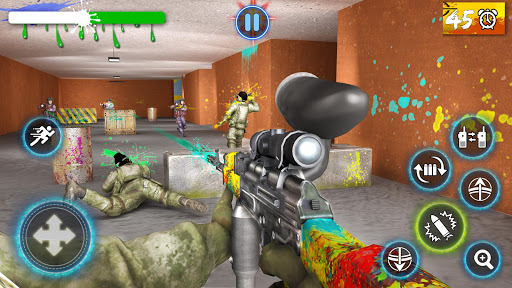 Paintball Arena Shooting: Shooter Survivor Battle apkpoly screenshots 1