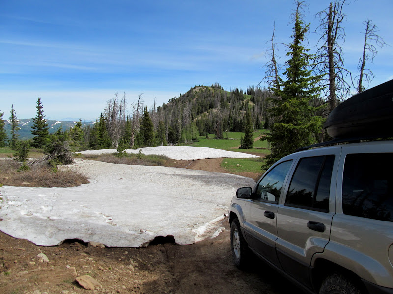 Photo: Snow drifts on East Mountain