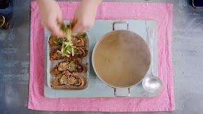 Sizzling Lamb Chops and Mushroom Soup thumbnail
