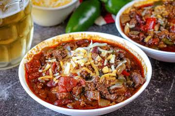 Too Hot to Trot Beer Chili