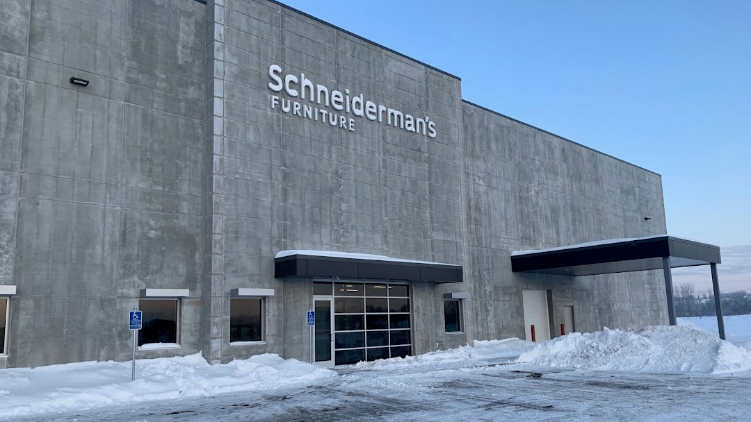 Schneiderman S Furniture Distribution Center Warehouse In Lakeville
