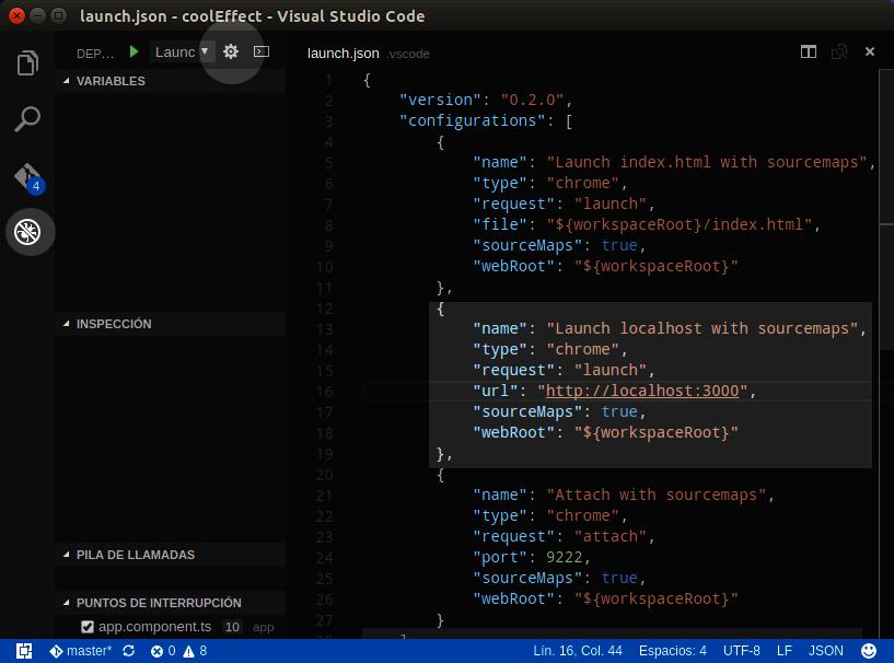 Visual Studio Code Chrome Debugger