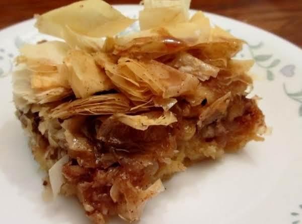 Didi's Baklava Bars Recipe