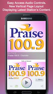 Praise 100.9 - Charlotte - screenshot thumbnail