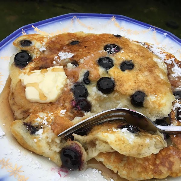 ~ Tender Buttermilk Pancakes ~ Fruited Or Plain Recipe