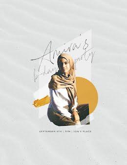 Amira Bday - Birthday Flyer item