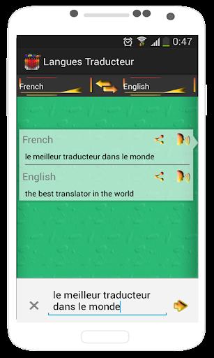Traducteur De Tous Les Langues