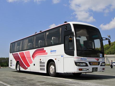 西鉄高速バス「桜島号」 9134 北熊本SAにて その1