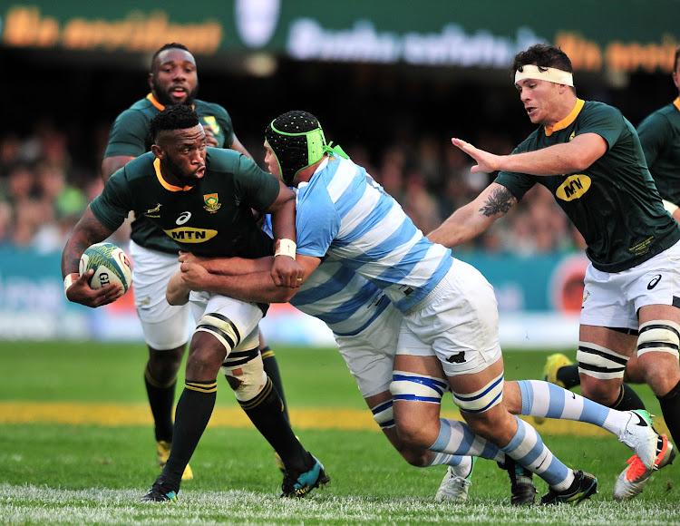 Algebraico aparato Catástrofe  Boks power past Argentina in Rugby Championship opener in Durban