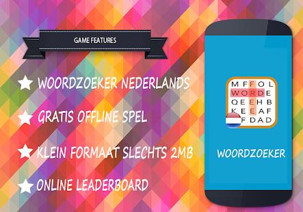 Woordzoeker nederlands gratis - náhled