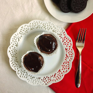 Mini Oreo Chocolate Cheesecakes Recipe