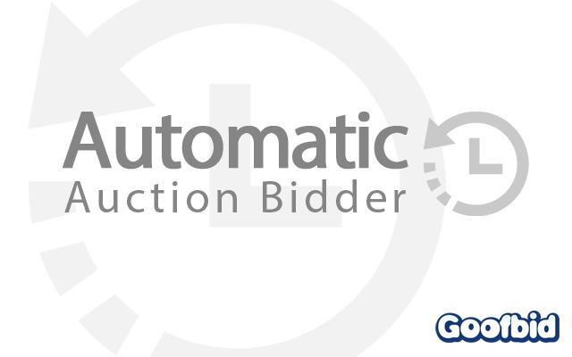 Goofbid - Automatic eBay Bidder