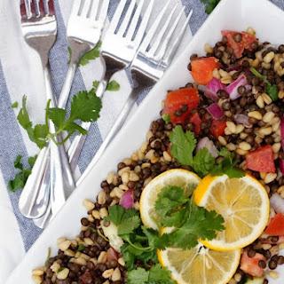 Crisp Lentil Salad