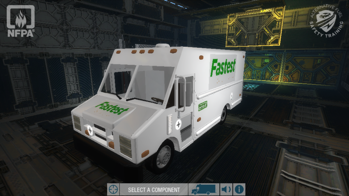 NFPA Alternative Vehicle- screenshot