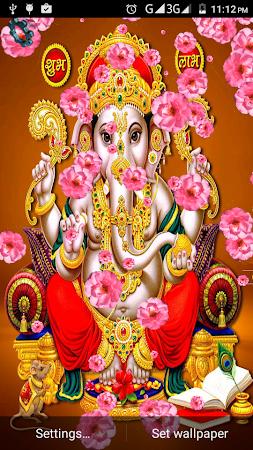 4d Ganesha Live Wallpaper 13 Apk Free Entertainment Application