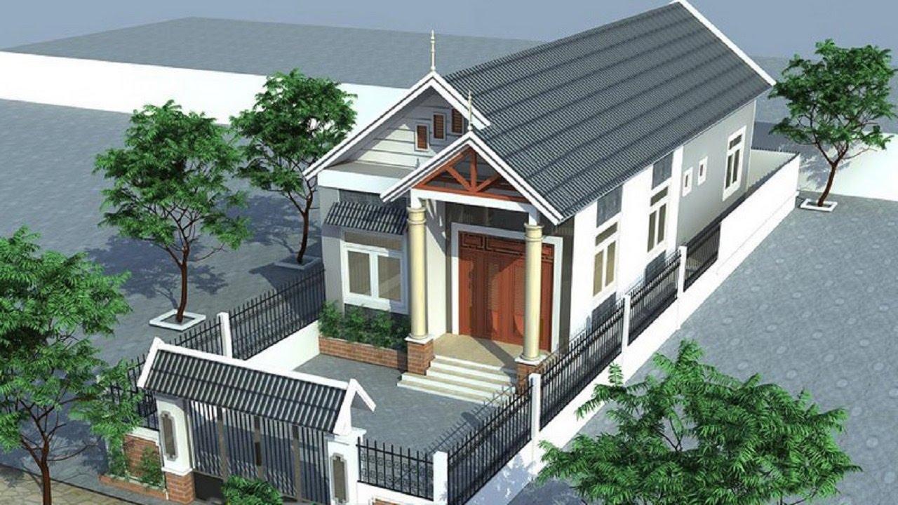 Thiết kế nhà theo kiểu dáng hiện đại, đẹp mê hồn