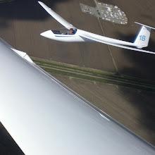 Photo: Jim Darke - 1B in formation on Peter Kelly - PK overhead Williams, Ca